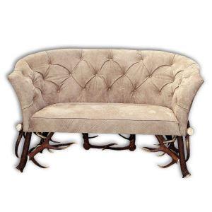 Kožená sedačka z paroží ARTURE Dominator 112210 29 Beige Brown