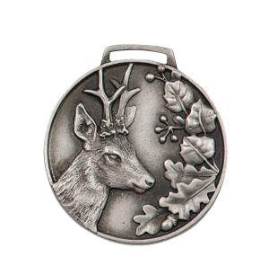 Stříbrná medaile srnec
