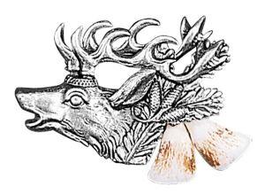 Odznak ARTURE jelení hlava s řezáky 2657