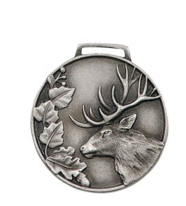 Stříbrná medaile jelen