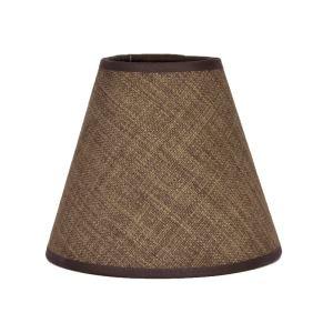 Textilní stínidlo E14 klips ARTURE 1590140712 50kl hnědé 50