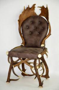 Židle z paroží ARTURE Komfort 114405 04  Moro