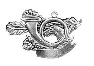 Odznak ARTURE trubka s úlomkem 2628
