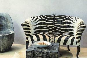 Sedačka ARTURE Dominator - 32 - Zebra