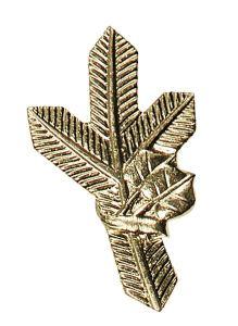 Odznak na klopy zlatá větvička levá ARTURE 267402L