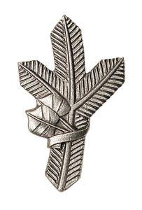 Odznak na klopy stříbrná větvička pravá ARTURE 267401P