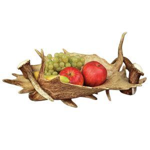 Mísa na ovoce z paroží s držátky ARTURE