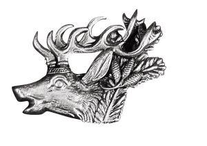 Odznak ARTURE s hlavou jelena 2601