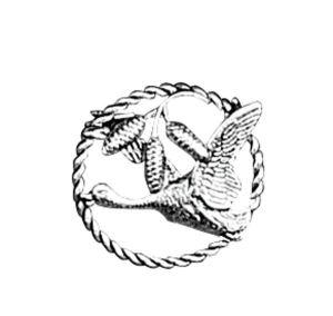 Odznak ARTURE kachna s šiškami v kroužku 2631