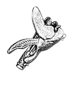 Odznak ARTURE touleček s kachnou 2641