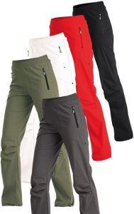 Kalhoty Litex dámské dlouhé do pasu khaki, velikost XXL
