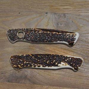 Střenky z paroží na švýcarský nůž Wenger Ranger 54